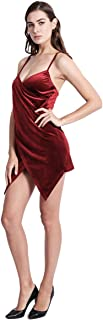 NEOBEAUTY Bodycon Dress Club Party Dress Night Spaghetti Straps Deep V Neck Sleeveless