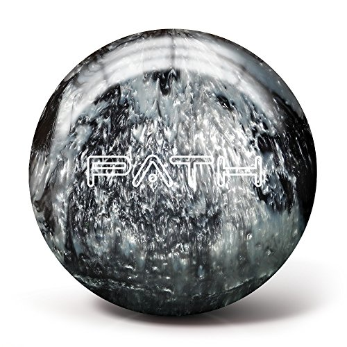 Pyramid Path Bowling Ball (Black/Silver, 10LB)
