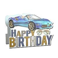 バースデーカード 「3D」 06 スポーツカー