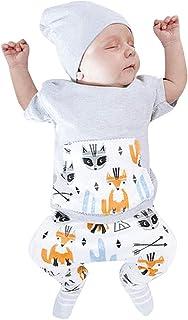 b02a48a378df6 LANSKIRT _Vetement D'enfant Ensembles bébé garçon Ensemble de t-Shirt à  Manches Courtes