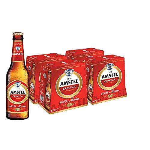 Bier Amstel Original 24x25cl (Pack 24 Flaschen)