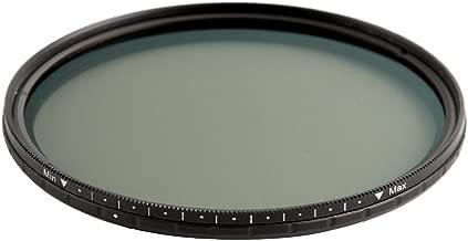 Rot FOTGA 49mm Ultra Slim Fader ND-Objektiv-Filter Einstellbare Neutraldichtefilter Variable ND2 zu ND400 Neutral Density Filter Graufilter