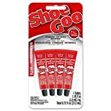 Best Shoe Glues - Shoe Goo 5510110 Mini Adhesive (4 Pack), 0.18 Review