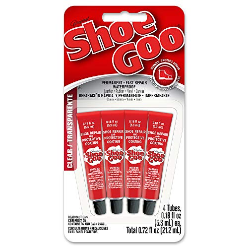 Shoegoo 5510110 Mini Adhesive (4 Pack), 0.18 fl. oz, Clear
