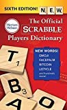 The Official SCRABBLE Players Dictionary, Sixth Ed. (mass market paperback) 2018 Copyright