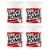 CritterKill Professional Strength 15g Flea Smoke Bomb Fogger Fumigator Smoke | Kills Fleas