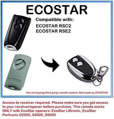 Ecostar RSC2 Tor-Fernbedienung
