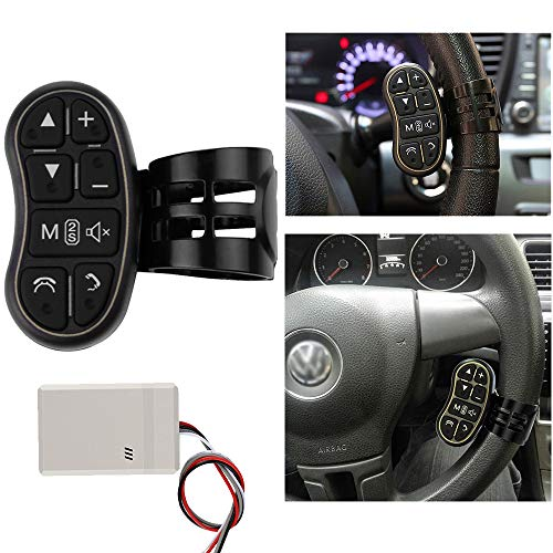 OurLeeme Car DVD GPS Player Volante Control Remoto Botón de la Llave para Reproductor de DVD Sistema de navegación GPS