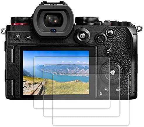 Fit for Panasonic LUMIX S5 Screen Protector 3 Pack Tempered Glass Screen Protector Compatible product image