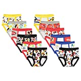 Disney Toddler Minnie or Mickey Mouse '12 Days Un-Boxing' Gift box 12-Pack brief Underwear, days mickey, 2/3T