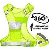 RoadRunner New 360° Reflective Running Vest for Men and Women...