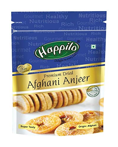 Happilo Premium Dried Afghani Anjeer, 200g (Pack of 2)