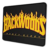 Backwoods 4 Sizes Waterproof Customized Mouse Pad, Non-Slip Rubber Mouse Mat