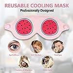 Hilph®Réutilisable Masques de Refroidissement pour Anti Cernes Yeux, Thérapie Froid Chaud Migraine Masques de Refroidissement pour Yeux Gonflés et la Relaxation #3