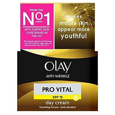 Olay Anti-Wrinkle Pro Vital Moisturiser Day Cream Mature Skin 50ml