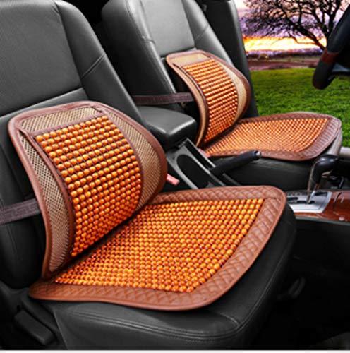 Xihaoer ademend en comfortabel kussen voor auto en ijs zijde bamboe Lumbar ondersteuning kussen voor kantoor en auto