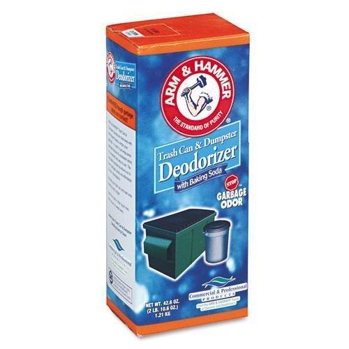 ARMANDHAMMER 3320084116 Trash Can & Dumpster Deodorizer, Original, Powder, 42.6oz