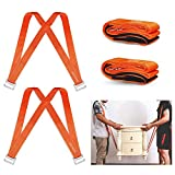 [Upgraded] DOTSOG Moving Straps 2-Person Lifting and Moving System Adjustable Shoulder Lifting Carrying and Moving Straps Easily Move Lift Carry Secure Furniture Heavy Bulky Objects,Up to 500 lbs
