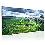 Topquadro XXL Wandbild Leinwandbild 100x50cm, Schottische