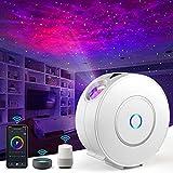 Proyector LED de cielo estrellado de Nigecue Galaxy con atenuación RGB, luz nocturna con Alexa/Google Assistant,...