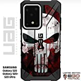 UAG Samsung Galaxy S20 Ultra [6.9' Screen] Limited Edition Case Urban Armor Gear by EGO Tactical - Black, Bloody Punisher