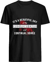 Longmire Red Pony Cafe 32 T shirt Hoodie for Men Women Unisex