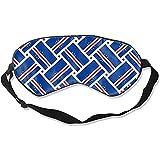 Eye Mask,Venda De La Bandera De Cabo Verde Impresión Divertida De Los Ojos Vendados Para El Viaje En Avión Del Hotel