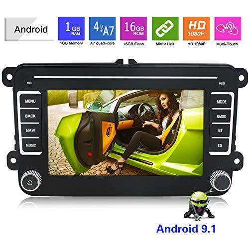 SAT NAV, 2.5D Explosionsgeschützte Bildschirm, 7-Zoll-2 din Multimedia Player Auto-DVD GPS Navigation für VW Volkswagen, Lebensdauer kostenlosen Karten-Update, Auto-LKW-Navigationssytem