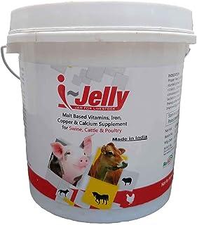 REFIT ANIMAL CARE - Malt Based Iron, Vitamins, Copper & Calcium Supplement for Animals (i-Jelly Jam 2.5 Kg.)