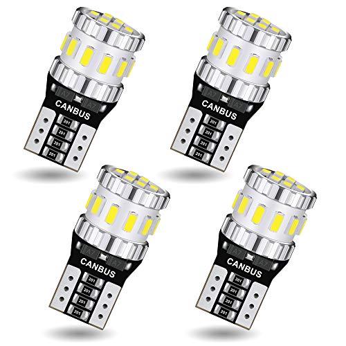 AGLINT T10 LED CANBUS Bombillas Libre de Errores W5W 194 168 2825...