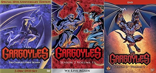 Gargoyles: Season 1 & 2: Volumes 1 & 2 Complete Series [DVD Disney Box Set] [DVD]