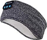 Sleep Headphones Wireless, Perytong Bluetooth Sports Headband Headphones with Ultra-Thin HD Stereo Speakers Perfect for Sleeping,Workout,Jogging,Yoga,Insomnia, Air Travel, Meditation