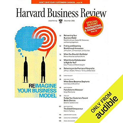 Reinventing Your Business Model  audiobook cover art