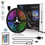Tira LED 5M USB, Zorara Tiras Led Iluminación RGB con...
