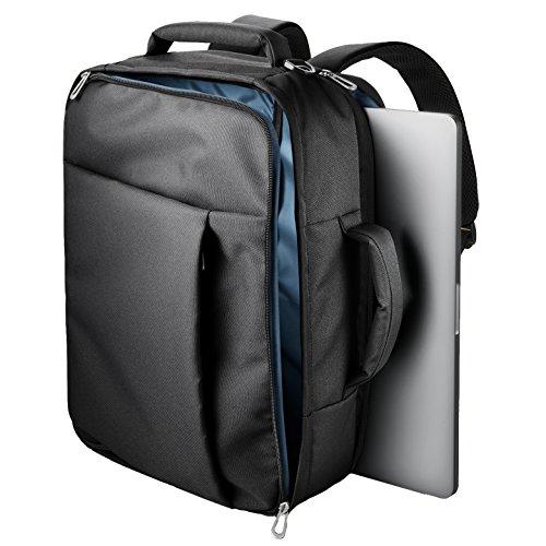 エレコム パソコンバッグ ビジネスバッグ キャリングバッグ A4対応 3WAYバッグ (ショルダー・リュック・手提げ) 表面撥水加工 ブラック BM-SN03BK