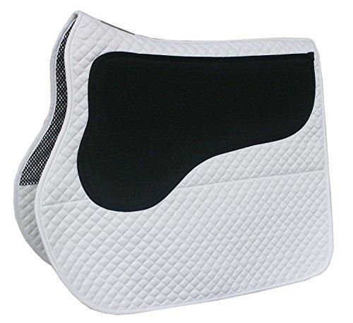 Reitsport Amesbichler Equest Anti Slip - Anti-Rusch Schabracke mit spez. Anti Rutsch Gummierung VS, weiß