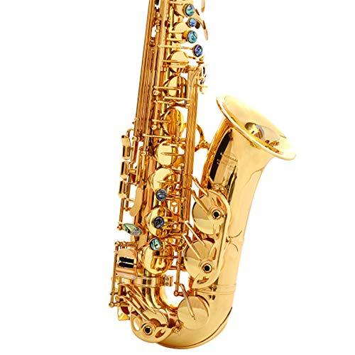 Chyuanhua Saxophon E-Flat-Alt-Saxophon-Sax-Abalone-Shell-Schlüssel-Schneidemuster Geeignet für Studenten und Anfänger (Farbe : As Shown, Size : One Size)