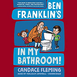 Ben Franklin's in My Bathroom! audiobook cover art