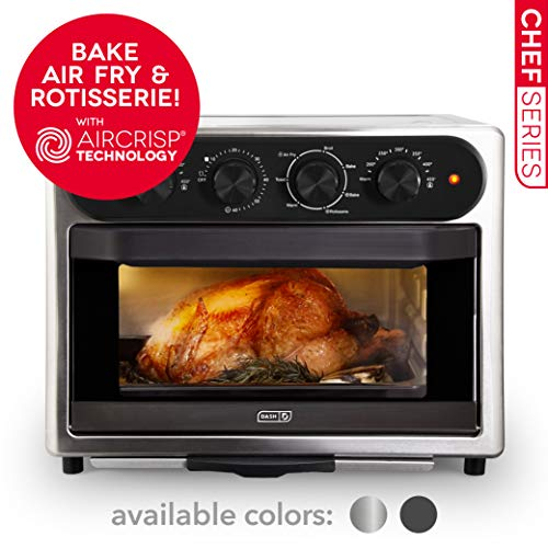 Dash Chef Series 7 in 1 Convection Toaster Oven Cooker,...