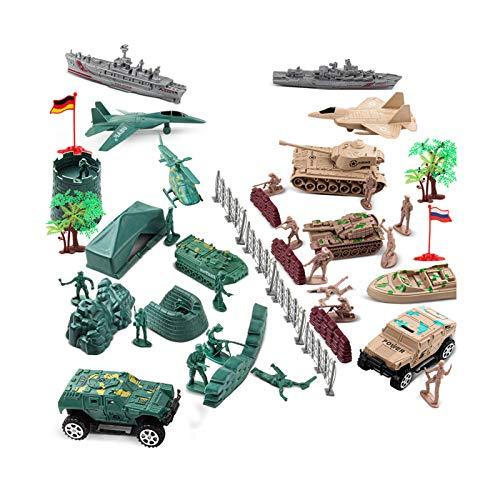 QWERTOUR Military Krieg Serie Modell Soldaten Anzug Kinder militärisches Kampfszene Spielzeug