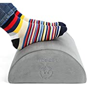 Foot Rest, Tdbest Adjustable Foot Rest Hammock and 3D Contoured Eye Mask Portable Airplane Travel Kit Flight Accessories to Prevent Swelling, Soreness