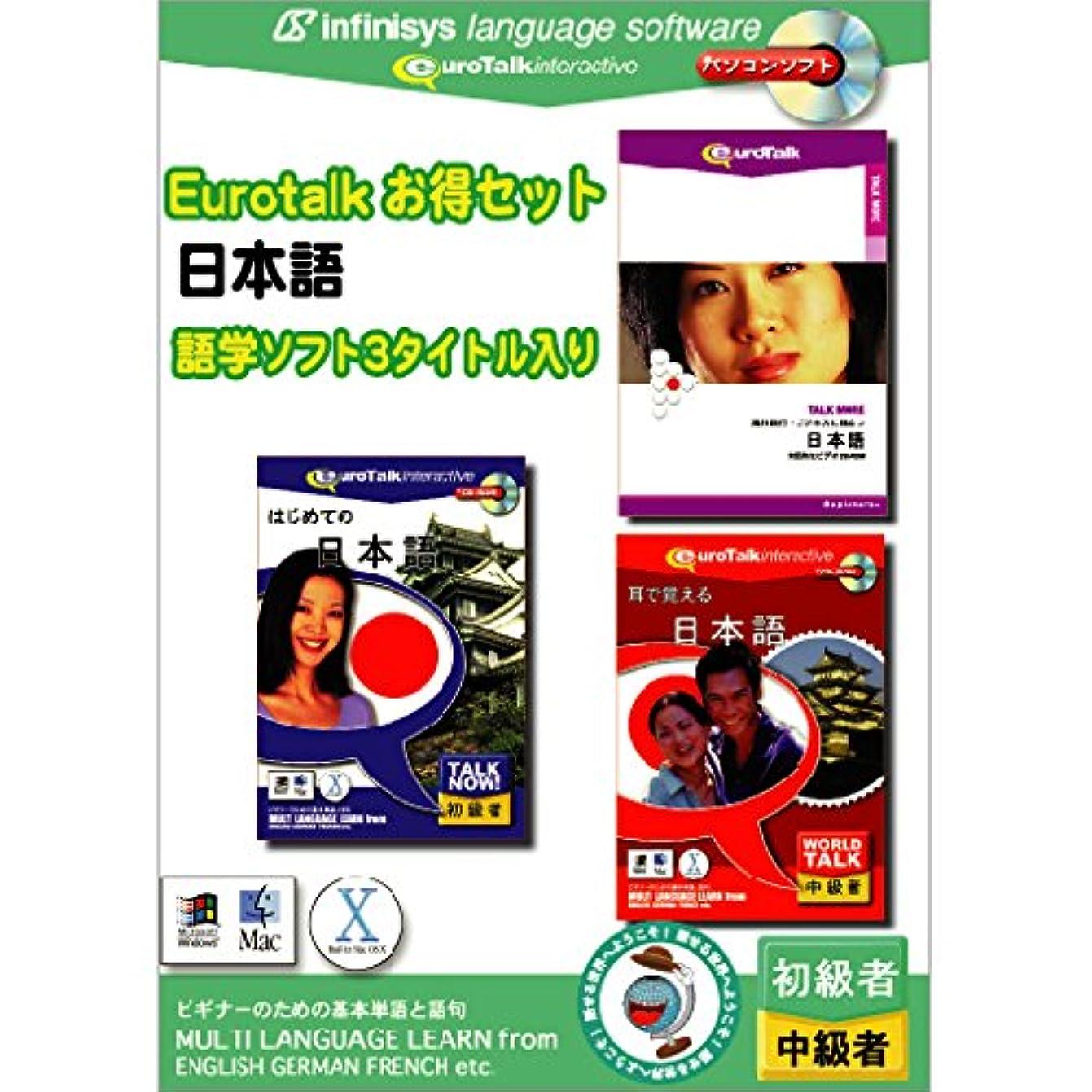 屋内で歩き回る群集Euro Talk お得セット 日本語