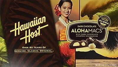 Dark Chocolate Covered Macadamia Nuts by Hawaiian Host