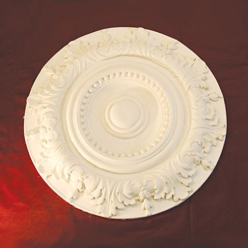 Cornice Direct Decoratieve Victoriaanse Plafond Rose 500mm Handgemaakte Gips, Wit