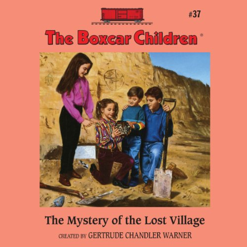 The Mystery of the Lost Village audiobook cover art