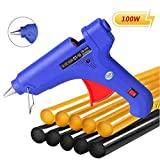 Manelord Glue Gun - 100W Hot Glue Gun with 10Pcs High Adhesion Hot Glue Sticks for Car Dent Repair, Home Improvement, Quick Daily Repair and DIY Small Craft Projects