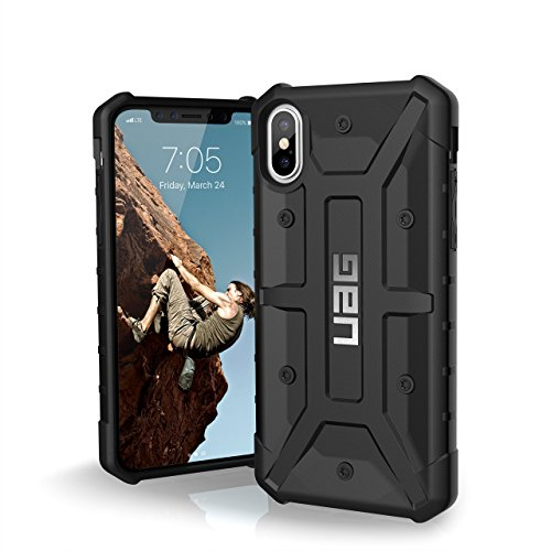 URBAN ARMOR GEAR UAG iPhone Xs/X [5.8-inch Screen] Pathfinder Feather-Light Rugged [Black] Military Drop Tested iPhone Case