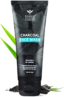 Bombay Shaving Company Charcoal Face Wash, Fights Pollution And Acne, Oil Control For Men & Women - 100g