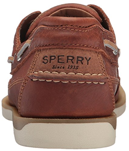 Sperry Men's Mako 2-Eye Boat Shoe, tan, 13 Wide US