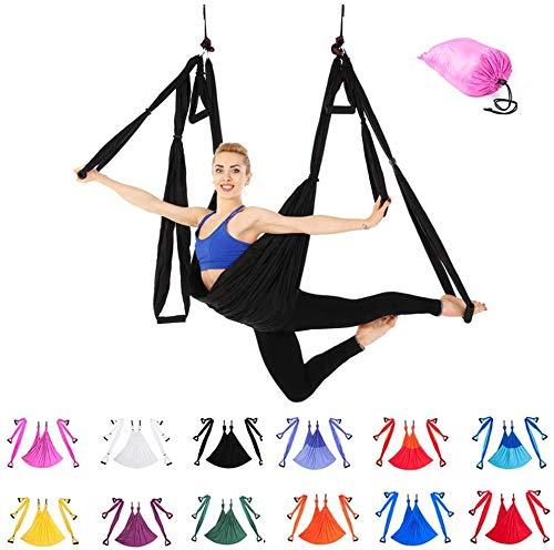 Indoor Reverse Aerial Yoga Hangmat Yoga Swing Fitness Hangmat Outdoor Parachute Doek YOGA HAMMOCK,6